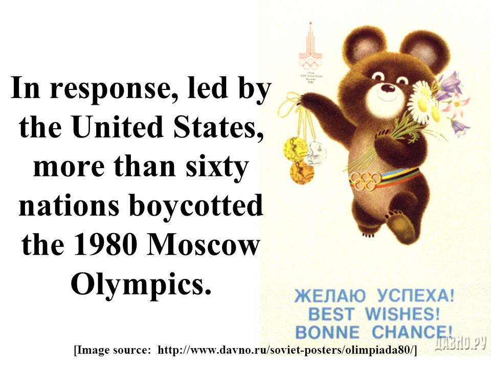 [Image source: http://www.davno.ru/soviet-posters/olimpiada80/]